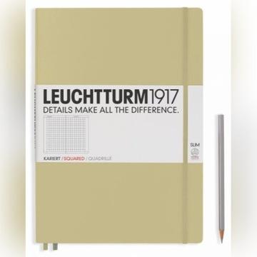 Notatnik Leuchtturm1917 A4 PIASKOWY kratka zeszyt