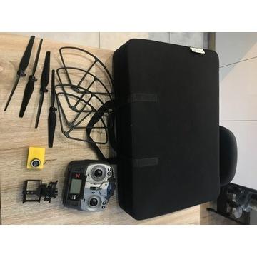 Overmax ładowarka, śmigła, osłony, torba, bateria