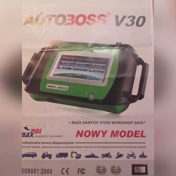 AUTO BOSS V30 Tester diagnostyczny z drukarką