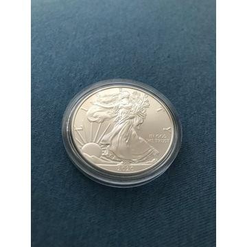 LIBERTY Orzeł 1 Dolar 2020  1 oz Ag999 USA