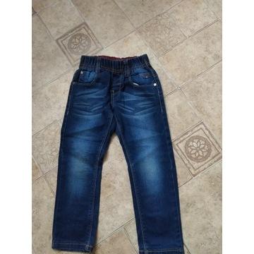 spodnie dzinsy chłopiece