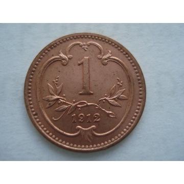 Austria 1 halerz 1912