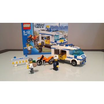 Lego City Transport więźnia 7286 - Prisoner Transp