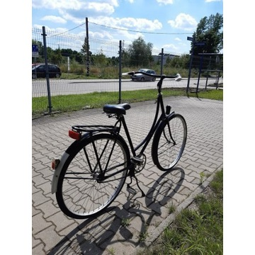PIĘKNA CZARNA DAMKA rower Favorit po gen. remonci