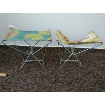 Krzesełka wędkarskie składane