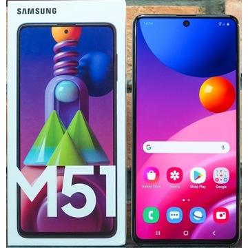 Samsung M51 + Etui
