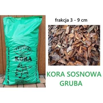 KORA SOSNOWA GRUBA 80L 1PALETA=36szt. STANPOL