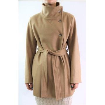 Płaszcz kurtka wełna kaszmir French Connection L