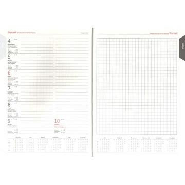 Kalendarz A5 handmade | tygodniowy| kratka