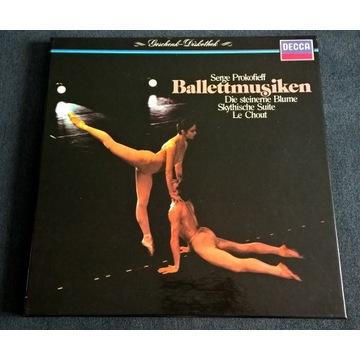 Prokofiev Ballet Music Abbado Ansermet BOX 2LP NM
