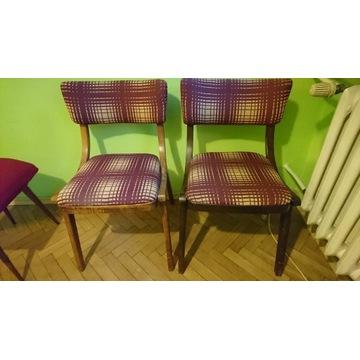 Meble PRL krzesła szafki komody lata '60,' 70