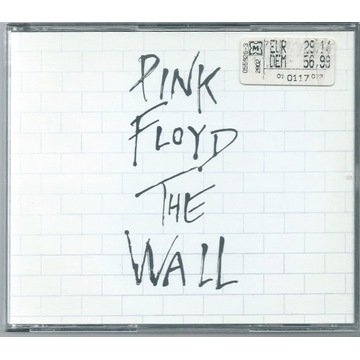 PINK FLOYD - The Wall - 2xCD 1994 ITALY UNIKAT