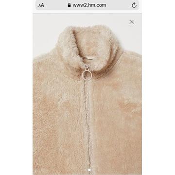 Bluza z suwakiem kurtka miś H&M mama ciążowa S