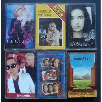Kasia, Urszula, Ich Troje, El. Gitary - 6 kaset.