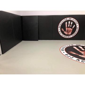 Mata ścienna MMA, JUDO, 4 cm. Łatwy montaż