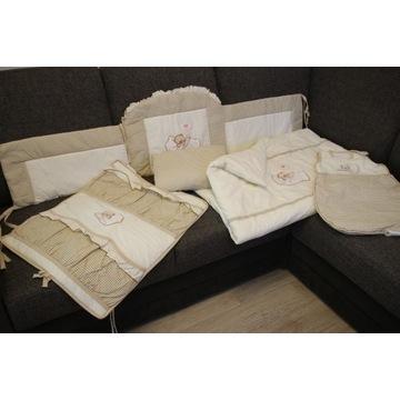 Ochraniacz na łóżeczko,poduszka,kołdra,wkłady,inne