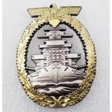 WW2 Odznaka marynarki wojennej Kriegsmarine 1941