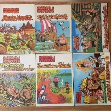 11 komiksów - Kokosz, Antresolka , Woda Sodowa...