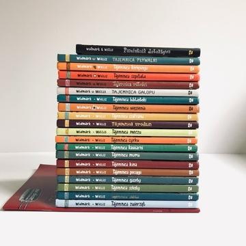 Tajemnica..19 książek z serii Widmark Willis