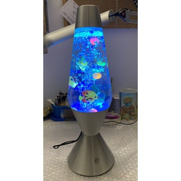 Angielska lampa, pływające rybki