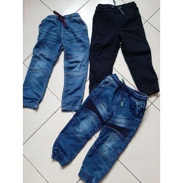 Paka spodni jesień spodnie r. 104
