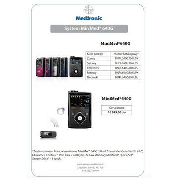 Nowa pompa insulinowa Medtronic 640G