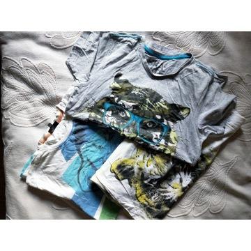 T-shirty z tygrysami