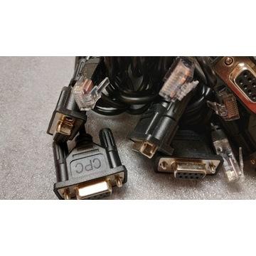 6x kabel komunikacyjny DB9 - RJ45 do APC UPS