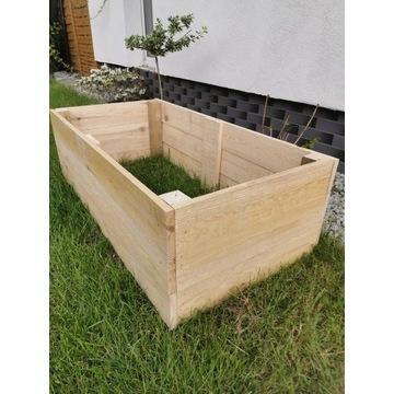 Skrzynia inspektowa, ogródek, warzywniak 120x60cm