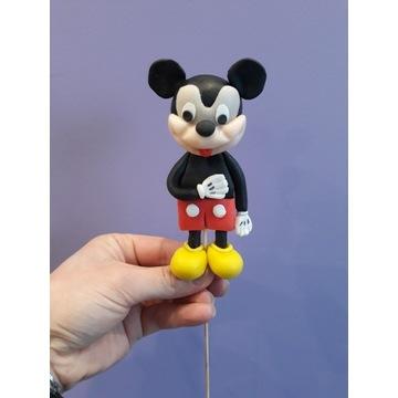 Myszka Miki , topper z masy cukrowej