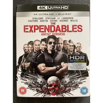 Niezniszczalni 4K + Blu-Ray BEZ PL Stallone