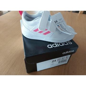 Adidasy, półbuty, buty sportowe, ADIDAS, nowe, 24