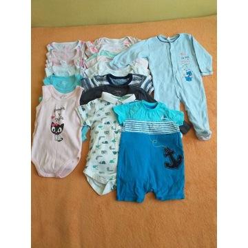 Ubranka dla niemowlaka rozmiar 74