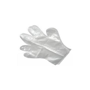 rękawiczki foliowe jednorazowe M