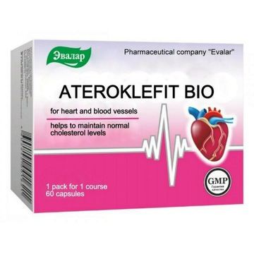 ATEROCLEPHITE Bio Evalar 60caps. blood cholesterol