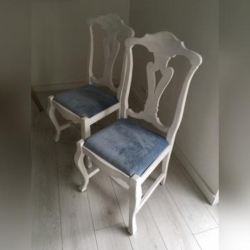 krzesło antyk 4 sztuki po renowacji