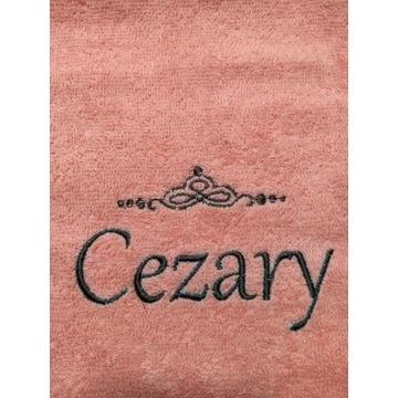 Ręcznik 30x50 z haftem imienia Cezary