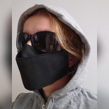 Maska Maseczka Bawełna 2warstwy+kieszonka na filtr