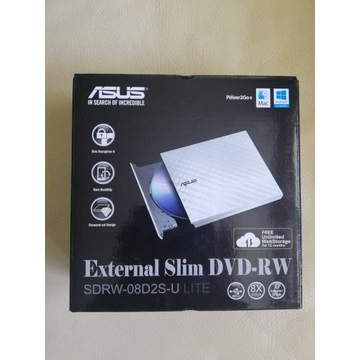 NAPĘD DVD-REC ASUS SDRW-08D2S-U LITE USB SLIM