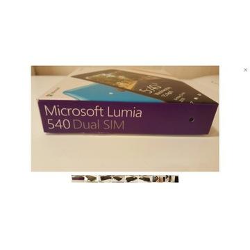 Microsoft Lumia 540 DUAL SIM - bez simlock