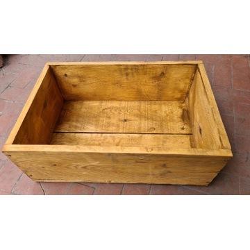 Skrzynka drewniana donica 60x40 do uprawy roślin