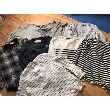 Zestaw ubrań sweterek koszula bluzka h&m,zara