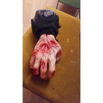 Sztuczna ręką rekwizyt horror prank scary movie