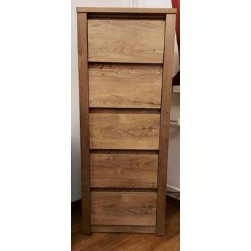 Komoda VEDDE 5 szuflad wąska (bieliźniarka)