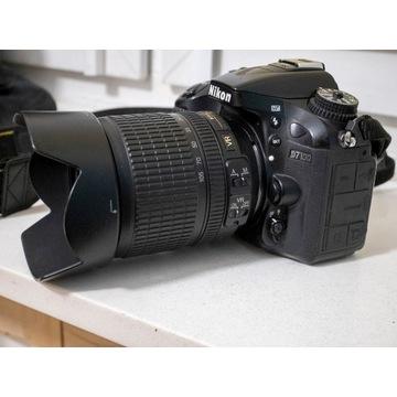 Nikon D7100 + obiektyw nikkor 18-105mm