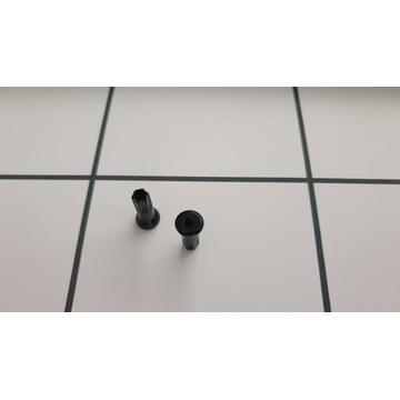 Nypel szprych czarny 12mm 2.0 chyba Swiss 2szt.