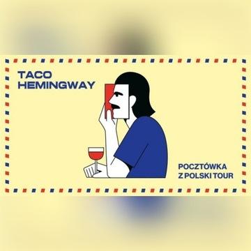 2 bilety Taco Hemingway Warszawa Torwar 11.02