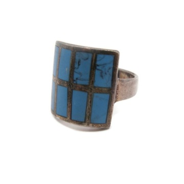 Stary srebrny pierścionek 925!
