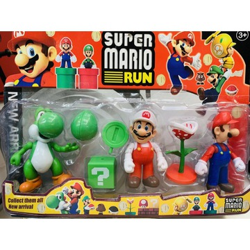 Zestaw Figurki Super Mario Bros- wysyłka z Polski