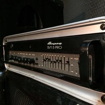 Wzmacniacz basowy, head Ampeg SVT3 pro + case